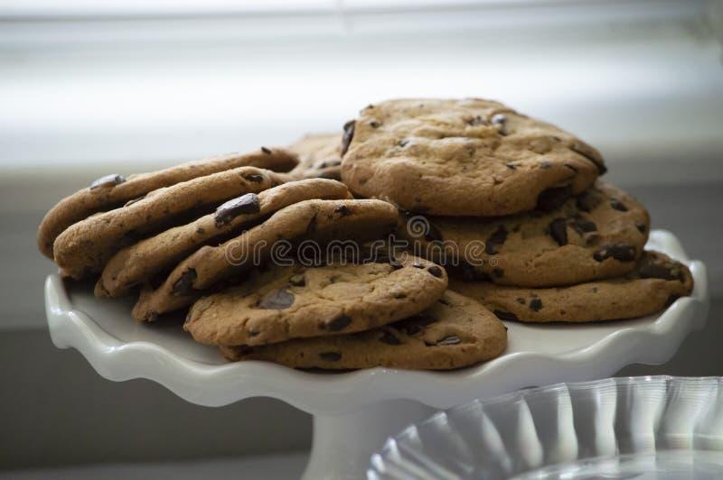 Un plateau des biscuits image libre de droits