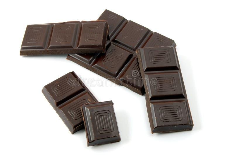 Download Un poco de chocolate foto de archivo. Imagen de aislado - 7275232