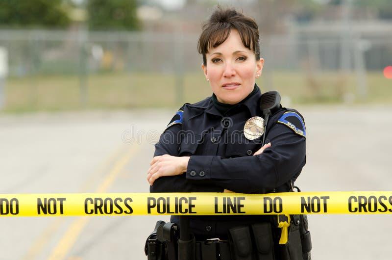 Scène du crime photo stock