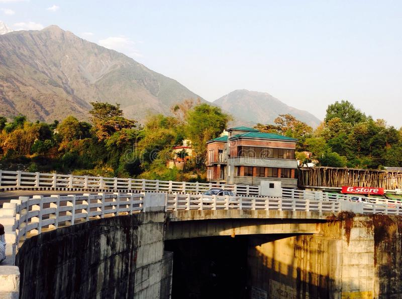 Un pont photos libres de droits