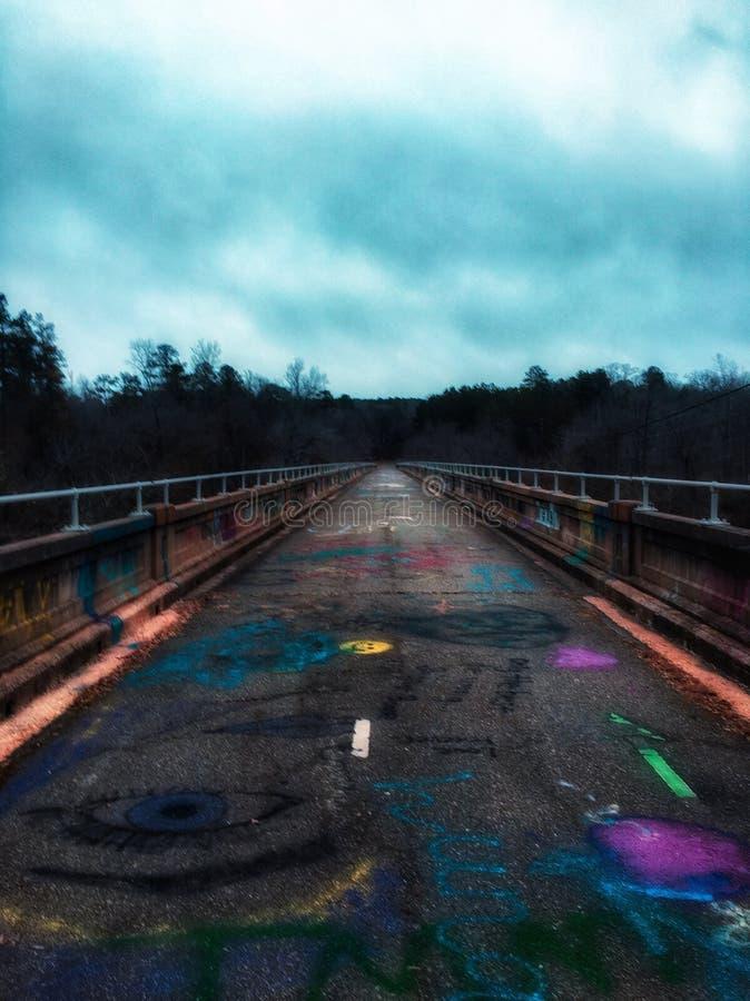 Un pont complètement d'art photo libre de droits