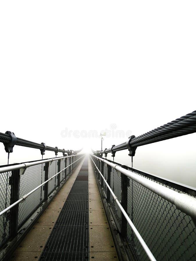 Un pont fané photographie stock libre de droits