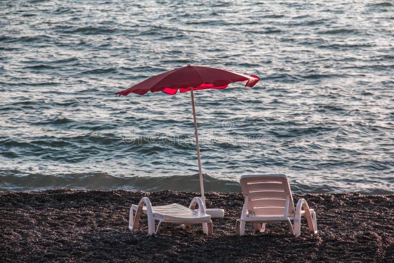 Un posto dal mare da rilassarsi fotografia stock libera da diritti