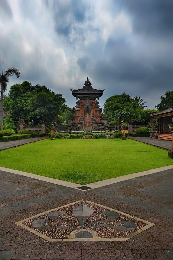 Un posto di culto indù a Jakarta immagine stock