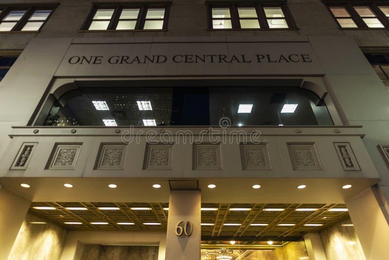 Un posto di Grand Central in Manhattan, New York, U.S.A. immagini stock