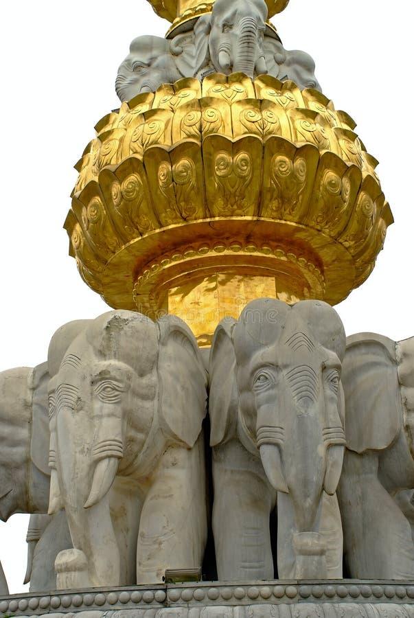 Un primer de la estatua imagen de archivo