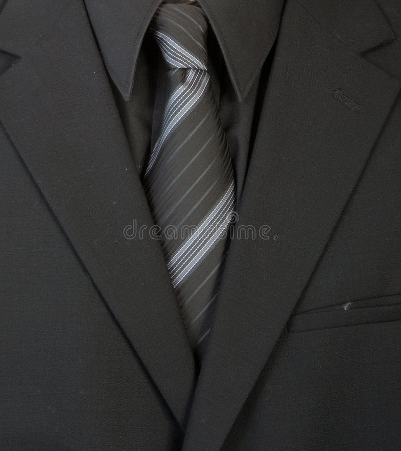 Un primer de a sirve el traje bien vestido. foto de archivo libre de regalías