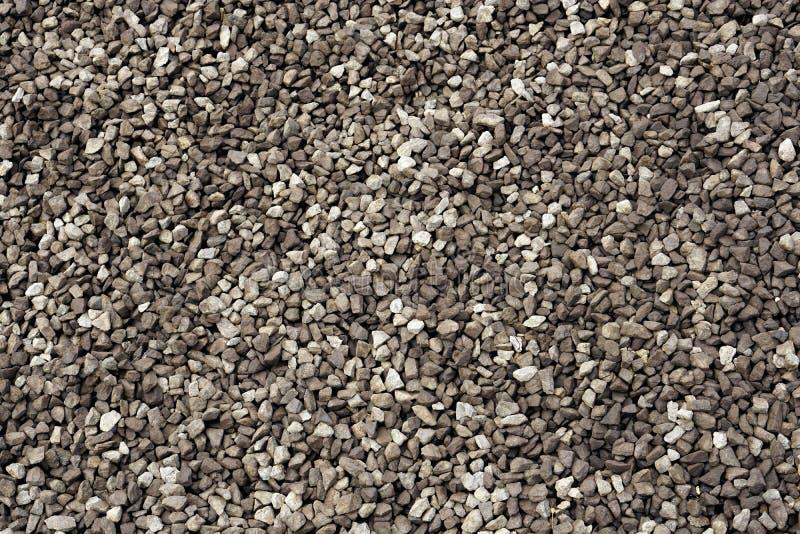 Un primer de una pila de piedras ?speras flojas foto de archivo