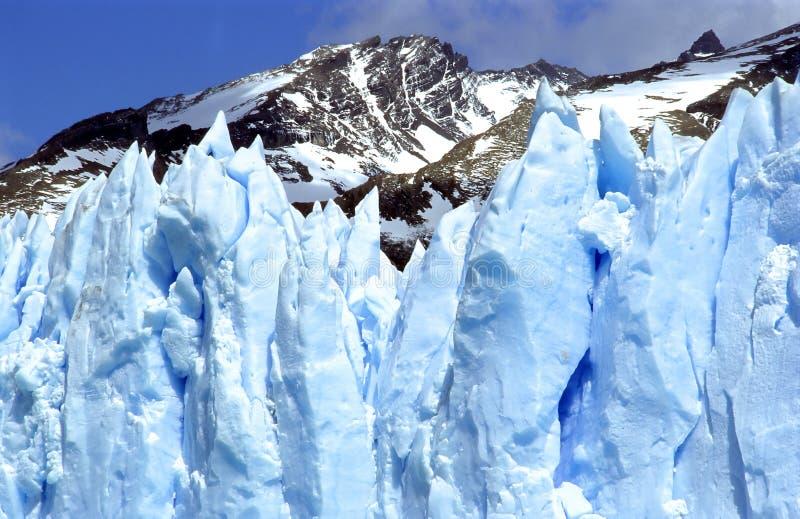 Un primer del glaciar Perito Moreno, parte II fotografía de archivo