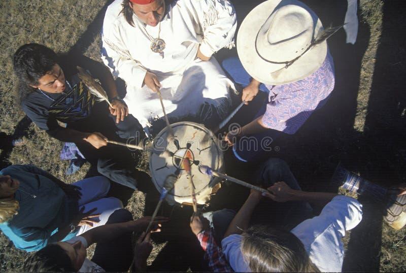 Un prisonnier de guerre indien wouah pour l'environnement de la terre dans Big Sur la Californie photo libre de droits