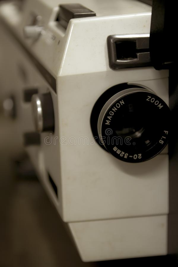 Un proyector viejo de Magnon del vintage imagen de archivo libre de regalías