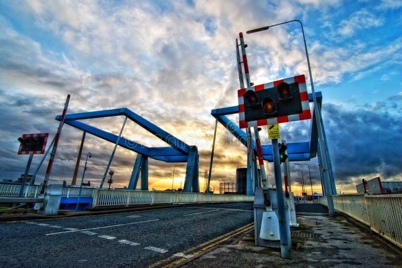 Un puente en el casco, Reino Unido fotografía de archivo libre de regalías