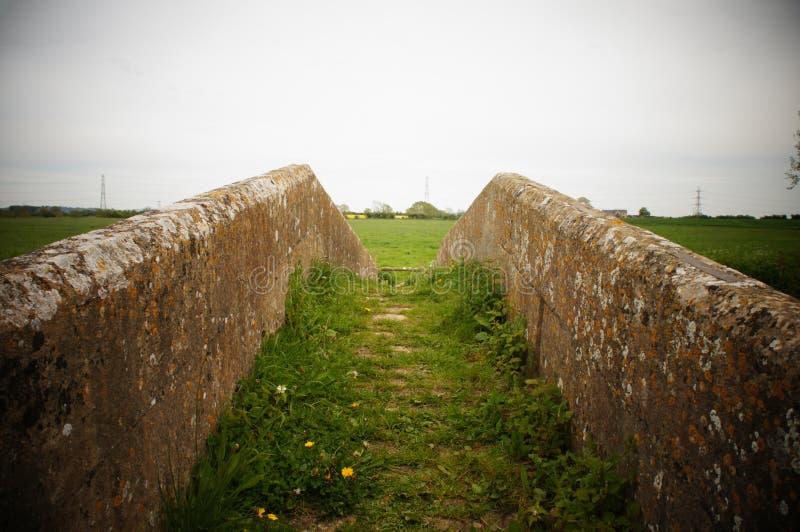 Un puente en Wiltshire foto de archivo