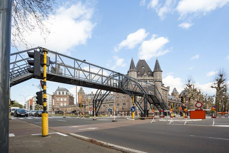 Un puente temporal fotografía de archivo libre de regalías