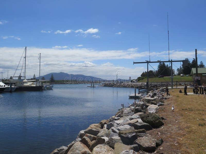 Un puerto reservado foto de archivo