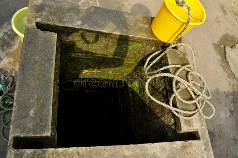 Un puits d'Africain photo libre de droits
