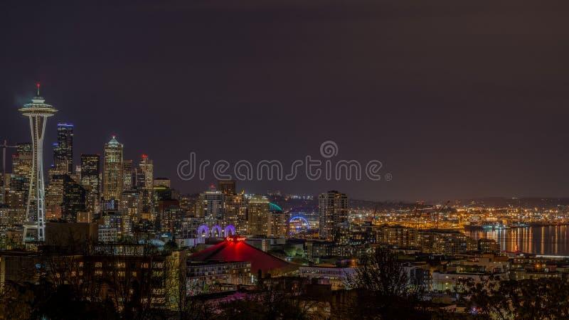 Un punto clásico de Seattle foto de archivo