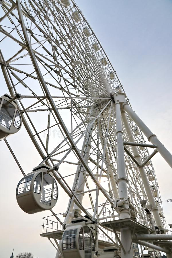 Un quart de roue féerique formant une forme unique pour attirant photos stock