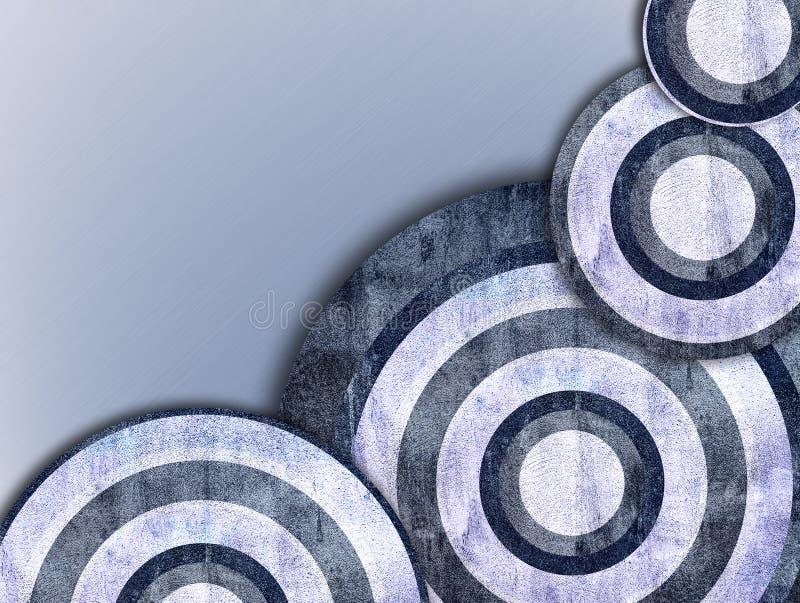 Un rétro fond abstrait illustration de vecteur