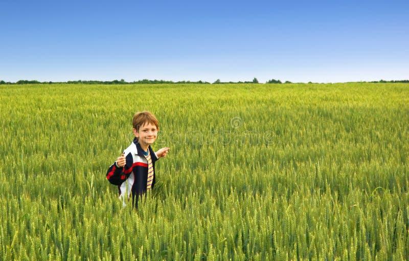 Un ragazzo fotografie stock libere da diritti