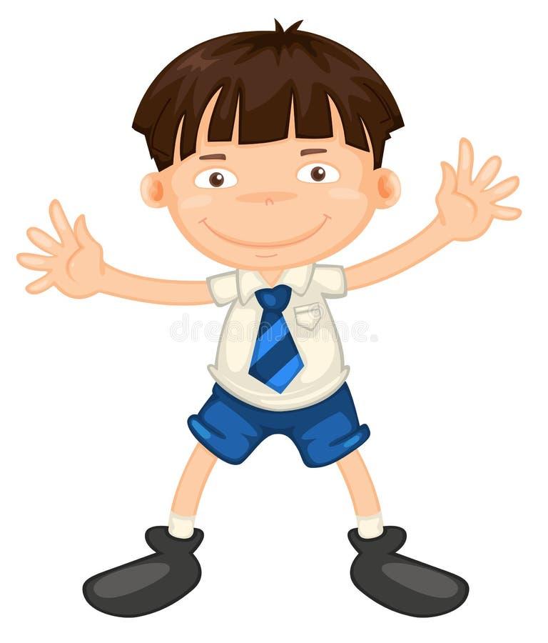 Un ragazzo illustrazione vettoriale