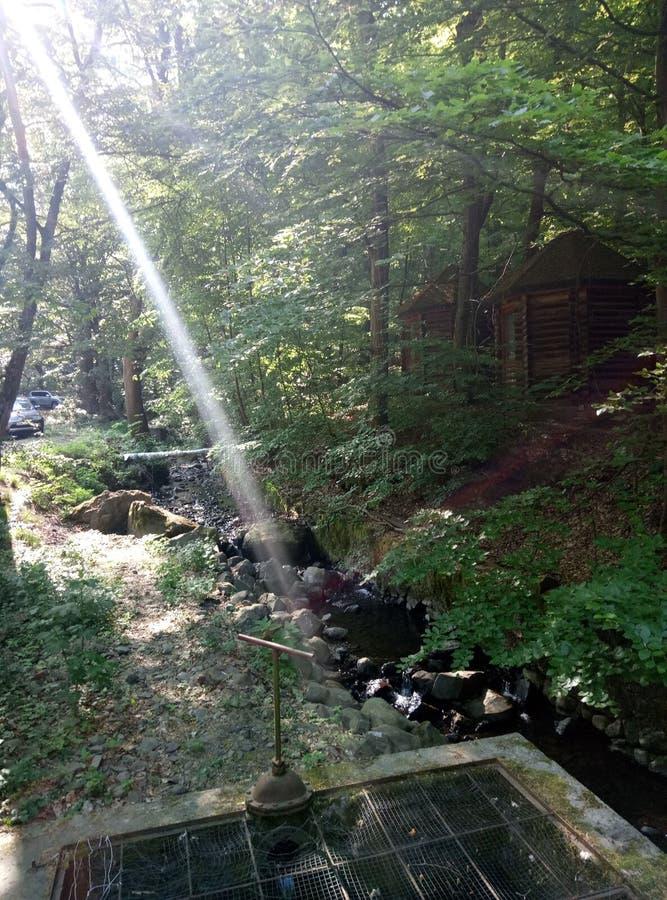 Un rayo de la luz imagen de archivo