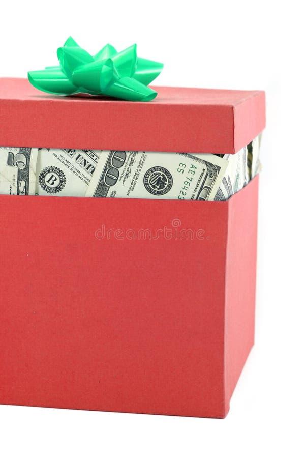 Un rectángulo de dinero fotografía de archivo libre de regalías