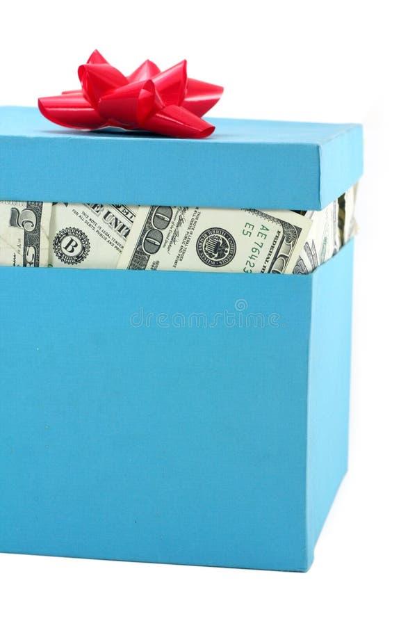 Un rectángulo de dinero foto de archivo libre de regalías