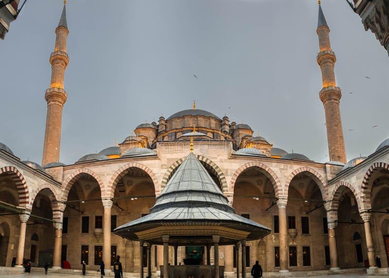 Un regard à Fatih Mosque photo stock