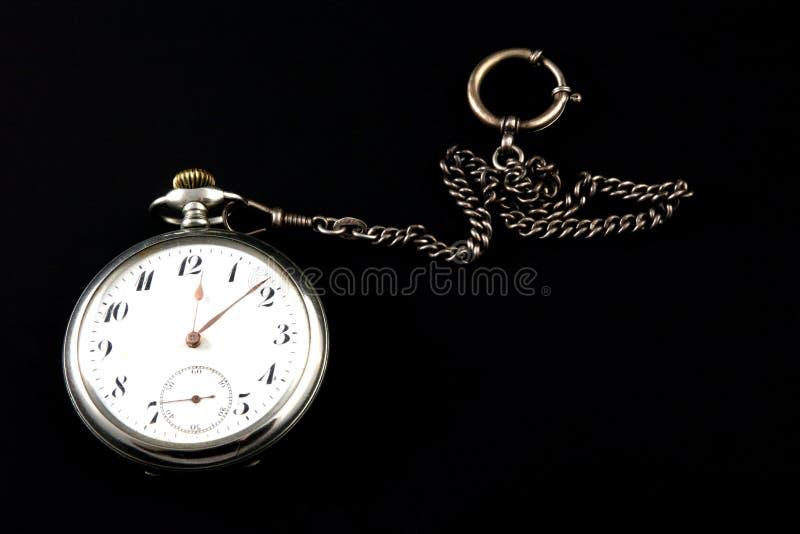 Un reloj de bolsillo imagenes de archivo