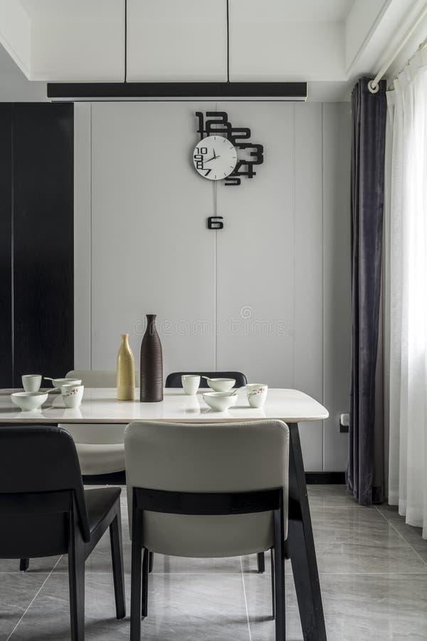 Un restaurant moderne de famille photos libres de droits