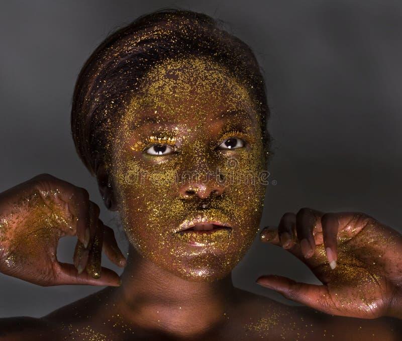 Diosa del brillo foto de archivo