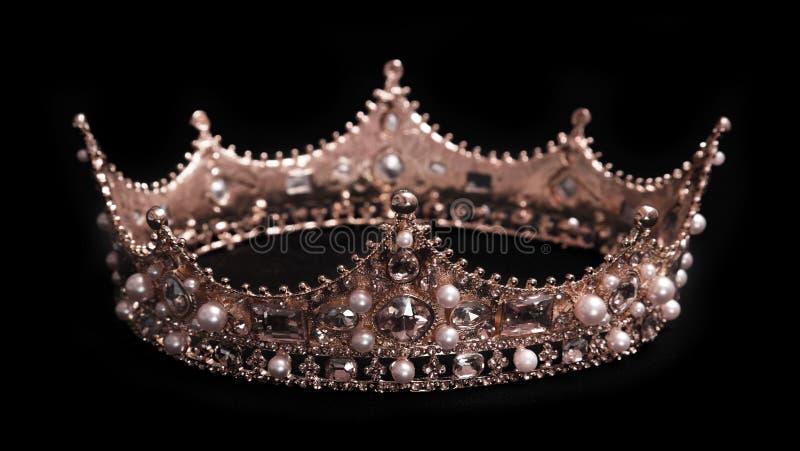 Un rey o una corona del Queens fotografía de archivo libre de regalías