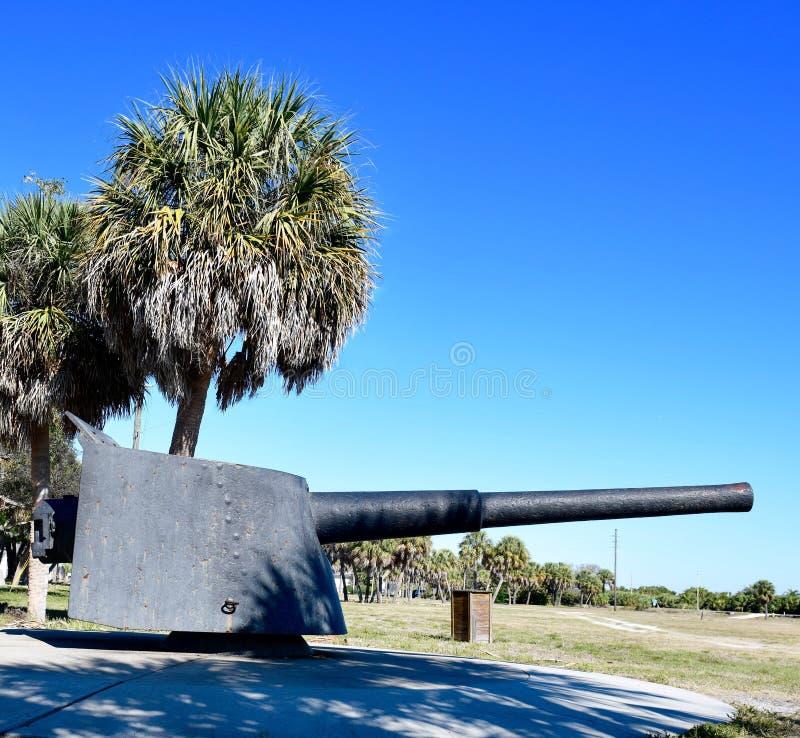 Un rifle de Armstrong del fuego rápido 6-Inch imagen de archivo libre de regalías