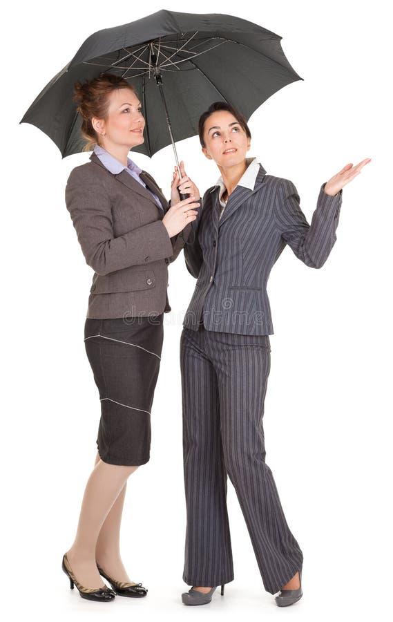 Un ritratto di due donne di affari immagine stock