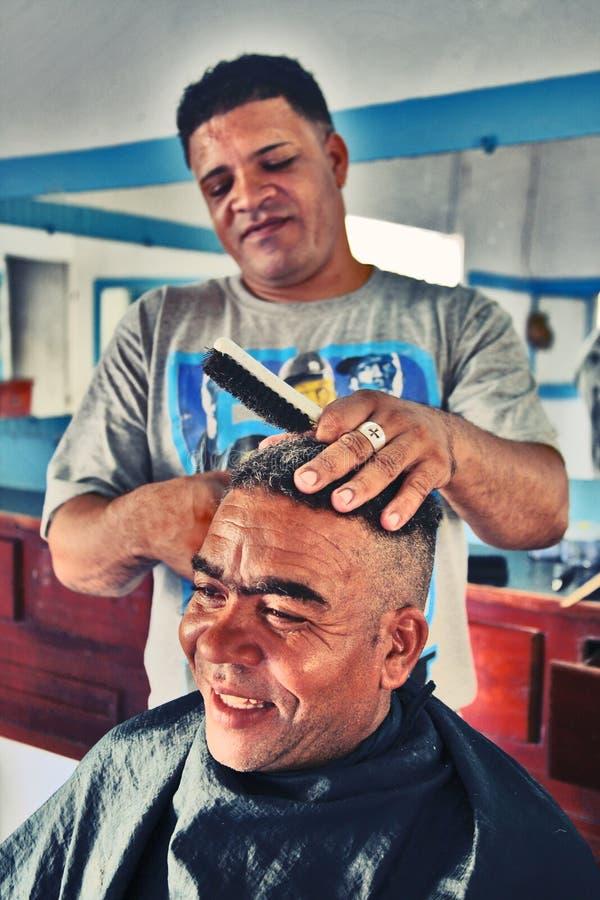Un riuscito affare nella Repubblica dominicana fotografia stock libera da diritti
