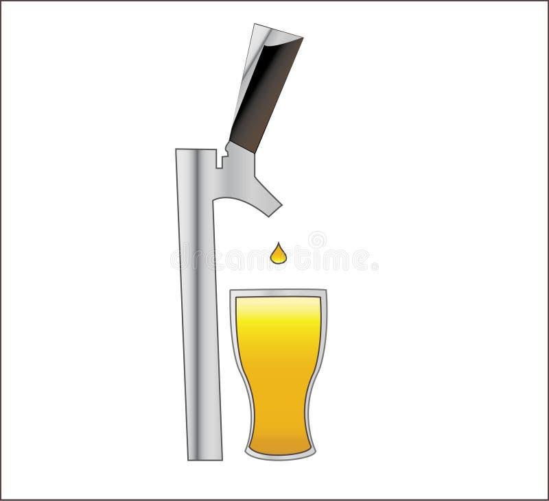 Un robinet pour la bière illimitée ! photographie stock libre de droits