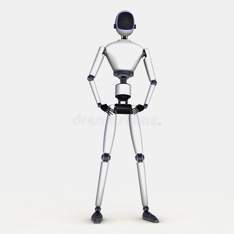 Un robot illustration de vecteur