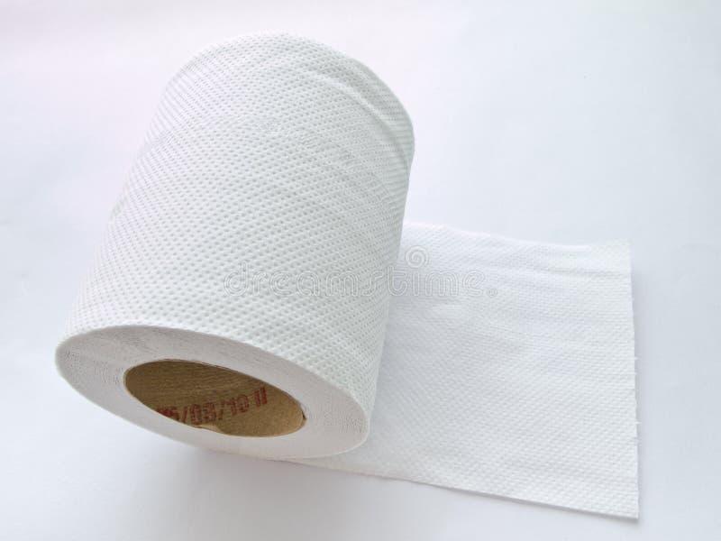 Un rodillo del papel de tejido fotografía de archivo
