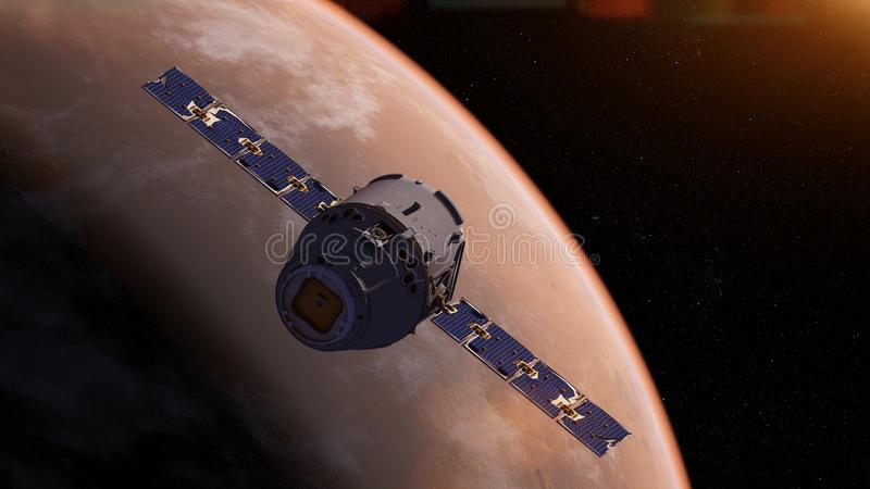 un satellite illustration de vecteur