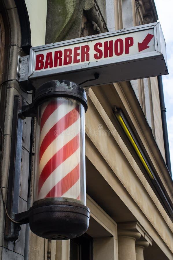 BarberShop immagini stock