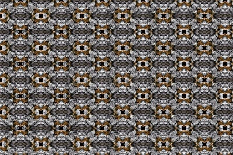 Un senza cuciture, ripetendo modello delle forme geometriche tessute immagini stock libere da diritti