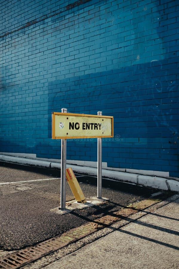 Un signe qui lu photos libres de droits