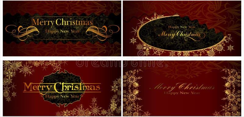 Un sistema de tarjetas de Navidad. 07 (vector) libre illustration