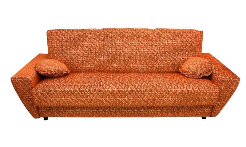 Un sofa en cuir images libres de droits