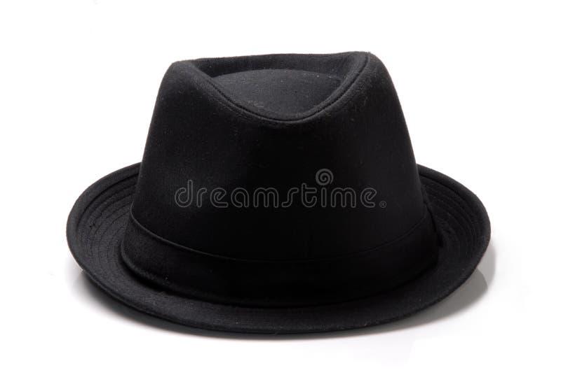 Un sombrero negro foto de archivo libre de regalías