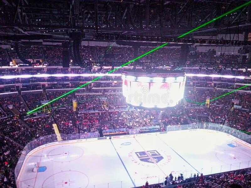 un stadion del hockey sobre hielo imágenes de archivo libres de regalías