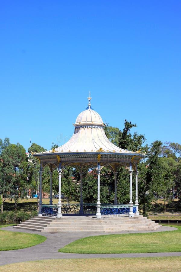 Un stationnement plus ancien rotunda, Adelaïde, Australie. photo stock