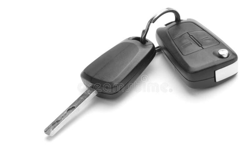 Un studio tiré des clés de véhicule images stock