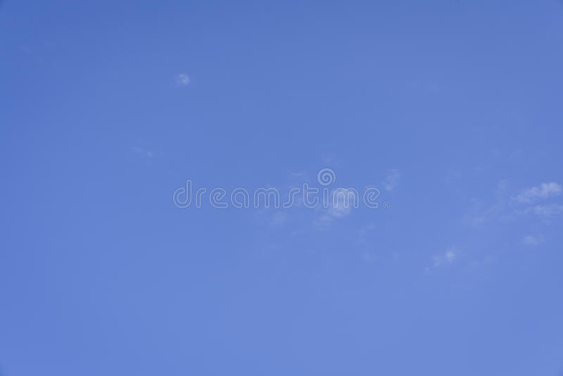Un support de ciel bleu image stock
